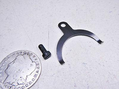 82 CAN-AM QUALIFIER IV 400 CLUTCH LIFTER RELEASE ARM RETAINER TENSION PLATE