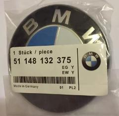 Replacement 82mm BMW Bonnet Boot badge emblem e81 e90 e91 e92 ...