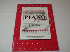 Theory Level Two Method for Piano Theory Music Book David Car...