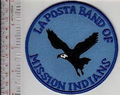 American Indian Tribe California La Posta Band of Mission Indi...