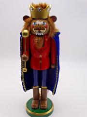 Nutcracker (Lion) Holiday Lane Wooden Wizard of Oz Collection ...