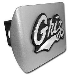University of Montana Brushed Hitch Cover