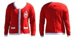 Delta Diva Sorority Jacket DST 1913 RED WHITE COTTON CARDIGAN ...
