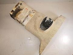 99 OMC EVINRUDE 115 FICHT EXHAUST HOUSING OUTER MOTOR LEG #1