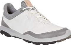 ECCO BIOM Hybrid 3 Tie GORE-TEX Golf Shoes - Men's - White/Bla...