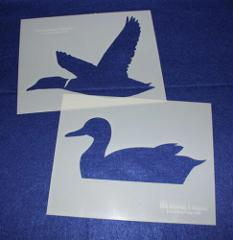 Large Duck Stencils - Painting/Crafts/Stencil/Template 2 Pc Se...