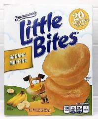 Entenmann's Little Bites Banana Muffins 8.25 oz Entenmanns