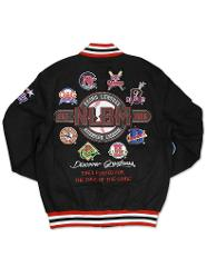 Negro League Baseball Commemorative Jacket NLBM Twill Letterm...