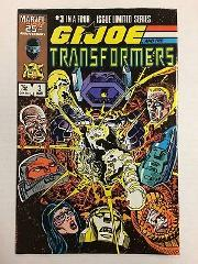 G.I. Joe and the Transformers #3 Comic Book B Marvel 1987