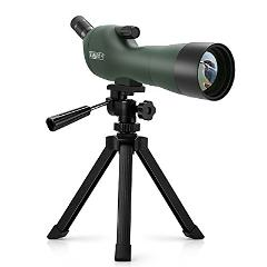 Emarth 20-60x60AE Waterproof Angled Spotting Scope with Tripod...