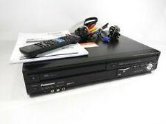 Panasonic DMR-EZ485V DVD Recorder VHS PLAYER DIGITAL TUNER