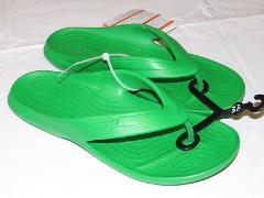Crocs Classic Flip Grass Green relaxed Unisex M 5 W 7 flip flo...