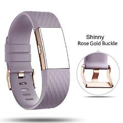 For Fitbit Charge 2 Bands Db Rose Gold Clasp Bands For Fitbit ...