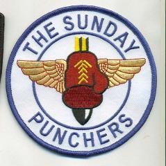 US NAVY VA-75 SUNDAY PUNCHERS PATCH