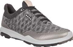 ECCO BIOM Hybrid 3 Tie GORE-TEX Golf Shoes - Men's - Silver Ya...