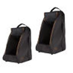 Aigle Dark Brown boot bag - wellington boot or shoe carrier - ...