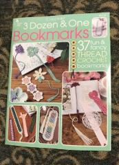 3 Dozen & One Bookmarks 37 Crochet Patterns Booklet 29 pages A...