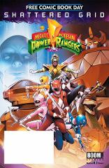Mighty Morphin Power Rangers FCBD Comic Book 2018 - Boom Shatt...