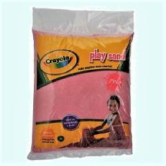 Crayola Pink Play Sand 20 Pound Bag Aquarium Safe High Quality...