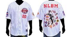 Negro League Baseball Jersey White Pinstripe Commemorative Bas...