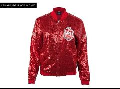 DELTA SIGMA THETA SEQUENCE JACKET DELTA DIVA RED CASUAL EVENI...