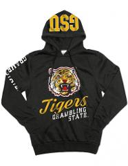 GRAMBLING STATE UNIVERSITY HOODIE JACKET GRAMBLING TIGERS PULL...