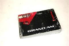 1997 PONTIAC GRAND AM Owners Manual Guide USED