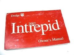 2002 DODGE INTREPID Owners Manual Guide OEM USED