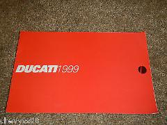 1999 99 DUCATI MOTORCYCLE SPECIFICATIONS BROCHURE