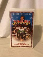 VHS Tape Jumanji Clam Shell 1996 Adventure | Comedy | Family |...