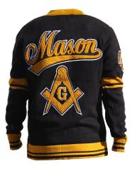 Freemason Jacket Masonic Sweater Masonic Wool Cardigan sweater...