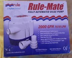 NEW Rule 2000 Automatic Bilge Pump - 24v