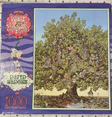 Vintage The Wit & Whimsy of David Badger 1000 Piece Puzzle Bed...