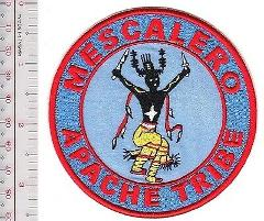 American Indian Tribal Seal New Mexico Mescalero Apache Tribe ...