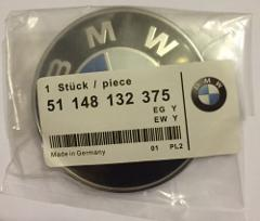 BMW 74mm REPLACEMENT BONNET HOOD BOOT TRUNK BADGE EMBLEM for 1...
