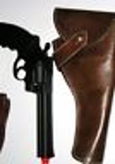 Indiana Jones Movie Prop Gun, Holster w Belt Replica Raiders