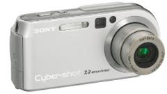 Sony Cybershot DSC-P200 7.2MP, 3x Optical Zoom Digital Camera