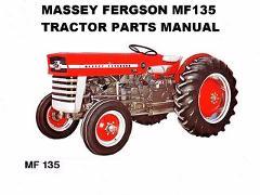 MASSEY FERGUSON MF135 PARTS MANUAL 160pg w/ MF 135 Tractor Par...