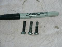 Stator alternator charging coils mount screws 1973 1974 1975 H...