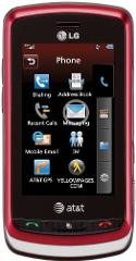 LG Xenon GR500 Phone, Red (AT&T)