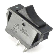 Rocker Switch 15A/125VAC or 7.5A/250VAC SPST Type 39 Swann (11...