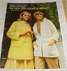 The New Soft Looks By Bernat Fashion Is Feminine Again 1969 Bo...