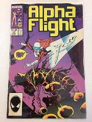 Alpha Flight #47 Comic Book Marvel 1987