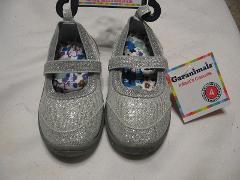 Garanimals Infant Casual - Dress Silver Shoes, Sizes (Infant 4)