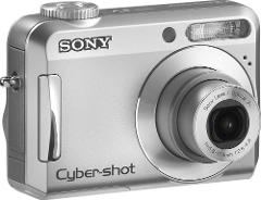 Sony Cybershot S650 7.2MP Digital Camera w/3x Opt. Zoom(For Pa...