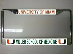 University of Miami Miller School of Medicine Photo License Pl...
