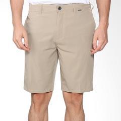 Hurley Men's Phantom Walking Casual Shorts Solid Khaki/Tan Siz...