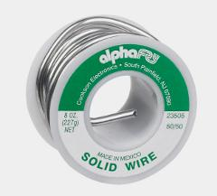 Alpha Fry SOLID WIRE SOLDER Multi Use 50/50 Tin/Lead 0.125