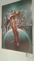 Metroid Prime 3: Corruption 15.5''x11.5'' Double Sided Poster
