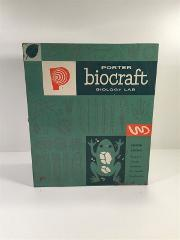Vintage Porter Biocraft Biology Lab With Microscope